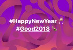 #HappyNewYear 🥂 #Good2018 🍾 | VincenzoKenzoAndolfi  ☆☆☆ ♡♡
