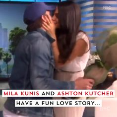 Watch this video to learn more about Mila Kunis and Ashton Kutcher's adorable love story.