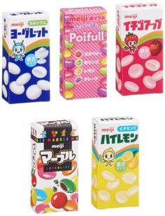 #meiji Petit Mini assort 5 #Candy Pack Dagashi Chocolate #JAPAN http://ebay.to/1rPXAGk