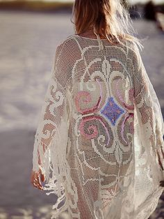 Free People Rolling Stone Kimono at Free People Clothing Boutique