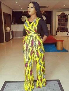 30 Latest Ankara Jumpsuit Styles 2019 You Will Love African Print Jumpsuit, Ankara Jumpsuit, African Print Dresses, African Dress, African Clothes, African Prints, African Fashion Ankara, Latest African Fashion Dresses, African Print Fashion
