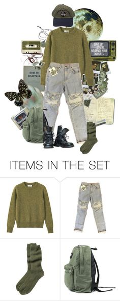 """They Won't Catch Us In The Dark"" by causingpanicatthetheater on Polyvore featuring art, runaway and aesthetic"