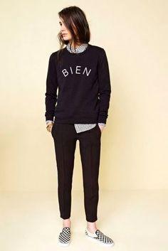 15 WAYS TO WEAR CHECKERED VANS SLIP-ON SNEAKERS | Le Fashion | Bloglovin'