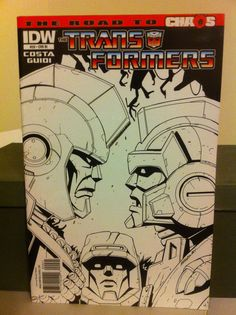 The Transformers #20 (June 2011, IDW Publishing)