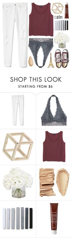 """""""✧;; you make what doesn't matter fade to grey"""" by kickitap ❤ liked on Polyvore featuring Gap, Victoria's Secret, Topshop, Monki, Converse, Ethan Allen, Fresh, Merci Gustave! and Kickitapsets"""
