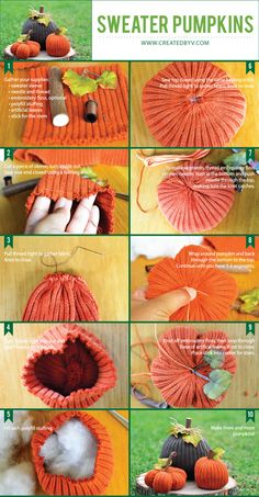 These adorable sweater pumpkins are made from the sleeves of old sweaters, require minimal sewing skills and deliver darling results. See how to make them in 3 easy steps!