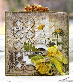 Anne Kristine: #lifeisgood...Wallflower paper stash and Frameworks http://sizzixukblog.blogspot.no/2014/04/lifeisgood.html
