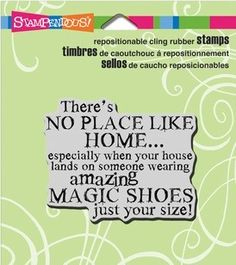 Stampendous Magic Shoes stamp