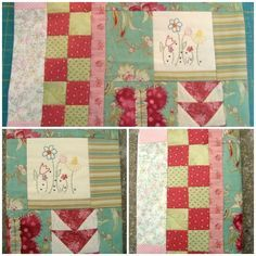 book cover tutorial / patchwork posse. Ideas for orphan or single quilt blocks