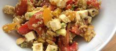 Recept: vegetarische quinoa salade - Miss Lipgloss