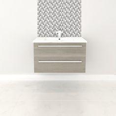 "Cutler Kitchen & Bath Silhouette 30"" Wall Hung Vanity Set & Reviews | Wayfair Supply"