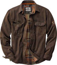 Amazon.com: Legendary Whitetails Men's Journeyman Rugged Shirt Jacket Tobacco Large: Clothing Jacket Images, Look Man, Jackett, Mode Style, Shirt Jacket, Bomber Jacket, Jean Vest, Jacket Men, Mantel