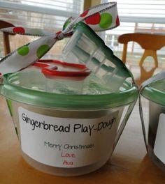"""Gingerbread """"No Cook"""" Play-dough fun! « green bean kindergarten"""