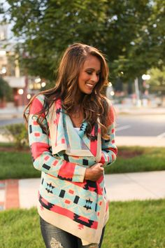 The Bonfire Cardigan - The Pink Lily Boutique