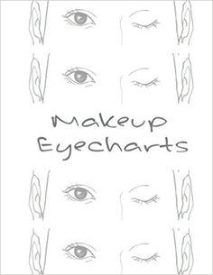 Makeup EyeCharts: Dianne: Emma Walkerson: 9781544953458: Amazon.com: Books
