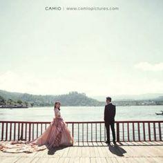 Beautiful prewedding portrait by Camio Pictures