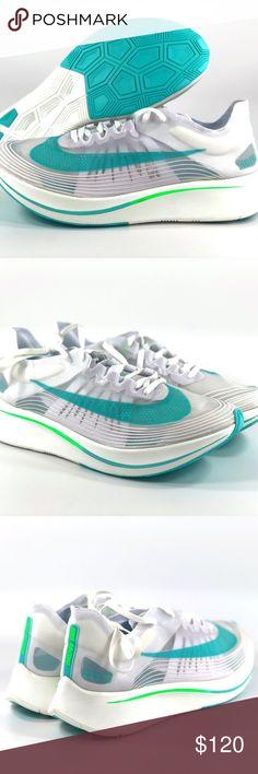 63b11223e38e0 Nike Zoom Fly SP London White Rage Green Teal Nike Zoom Fly SP London White  Rage