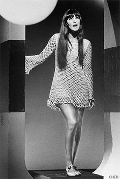 Fab photo of Cher in the 1960s...