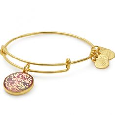 Everyday is a gift. When we stop and realize that the present truly is a present, our life becomes joyous. Share the gratitude in your heart, and live with the intention to celebrate every day Celebrate Today Charm denotes to the American Cancer Society
