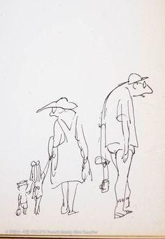 Jean Jacques Sempé, St-Tropez 장 자크 쌍뻬 Jean Jacques Sempé 의 삽화집 생트로페즈 St Tropez. 프랑스인들의 바캉스 스타일을 크게 둘로 나눈다면 제법 자주 태양,비취빛 바다, 요트, 샴페인, 호화별장, 스타로 대변되는 남불 선호파와 풍랑, 기암괴석, 바람, 화강암, 고독 등의 단어들로 대변되는 브르타뉴 선호파가 있답니다. 언뜻 보기에 쌍뻬씨는 후자인가봅니다. 생트로페에 모여든 관광객은 물론 매스 투어리즘에 젖은 우리 대부분의 모습을 쌍뻬의 스케치들이 퍽도 신랄하게 비꼬는군요. 보는 누구라도 귀가 뜨끈해질 풍자위에 소탈한 그의 유머가 주는 즐거움이, 1968년 초판 살짝 바렌 종이위에 조금도 닳지 않고  살아있습니다.