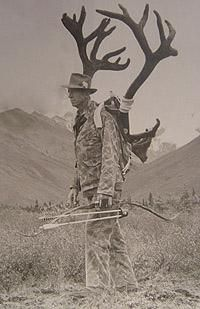 Fred Bear....the Legend!  Wouldn't you have liked to hunt with this guy?  I know I would've!
