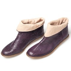 Gaucho Boots Womens Purple, $209, now featured on Fab.