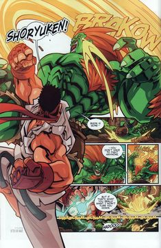 Street Fighter Unlimited Issue #6 - Read Street Fighter Unlimited Issue #6 comic online in high quality