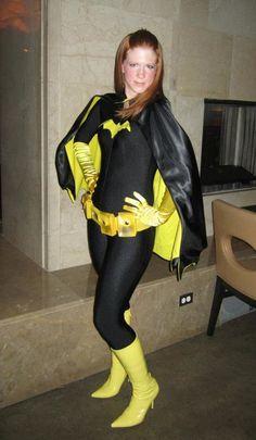 My Batgirl Halloween Costume. Grease Halloween Costumes, Diy Halloween Costumes For Girls, Superhero Halloween Costumes, Halloween Kostüm, Infant Halloween, 80s Costume, Halloween Makeup, Batgirl Cosplay, Dc Cosplay
