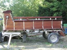 HItch Wagon and 3 sets harnesses $5000 vermont craigslist. I like the chassis. good model for me to build from