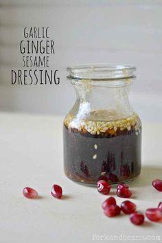 Garlic Ginger Sesame Dressing