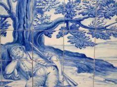 Azulejos. São Vicente de Fora (Lisboa) - Portugal. Voz de AMÁLIA RODRIGUES.