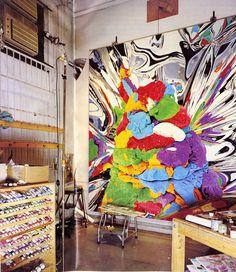 Jeff Koons studio