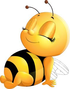 Bee_sitting_right_eyes_zu - Bee_sitting_right_eyes_zu Bee_sitting_right_eyes_zu Bee_sitting_right_eyes_zu Welcome to our websi - Cartoon Bee, Cute Cartoon, Bee Pictures, Bee Drawing, Baby Animal Drawings, Bee Cards, Cute Bee, Bee Happy, Rock Crafts