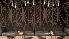 Best Home Decoration Stores Textured Wall Panels, Decorative Wall Panels, Metal Panels, Decorative Metal, Partition Screen, Custom Metal Fabrication, Focal Wall, Laser Cut Metal, Metal Projects