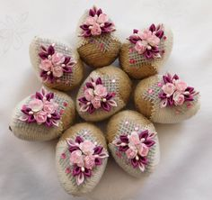 Desi Wedding Decor, Wedding Gifts, Coconut Decoration, Housewarming Decorations, Easter Crochet Patterns, Easter Egg Designs, Engagement Decorations, Egg Art, Ribbon Work