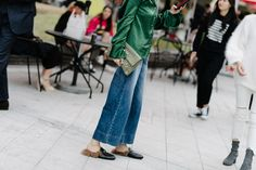 The best looks from the streets at Seoul Fashion Week Spring/Summer 2017, taken by Alex Finch.