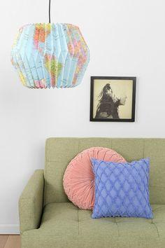 Globe Paper Lantern #urbanoutfitters