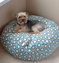 Fleece dog (or cat) bed tutorial (with sewing pattern) / Pihe-puha kutyaágy - macskaágy (szabásmintával ) /  Mindy -  creative craft ideas