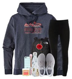 """""""Our tree is already up"""" by southernstruttin ❤ liked on Polyvore featuring Patagonia, Elie Tahari, The North Face, NIKE, S'well, Kate Spade, Burt's Bees, Stila, Tom Ford and Fendi"""