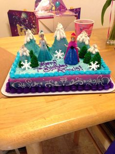 frozen cake | Frozen cake!