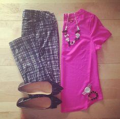 I like the patterned pants
