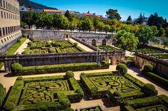 Jardines del Monasterio de San Lorenzo de El Escorial (El Escorial - Spain)