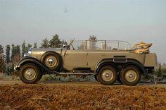 Restaurierter Mercedes-Benz G4 Geländewagen von 1939 der spanischen Königsfamilie (Typ W31) - Mercedes-Benz Passion Blog
