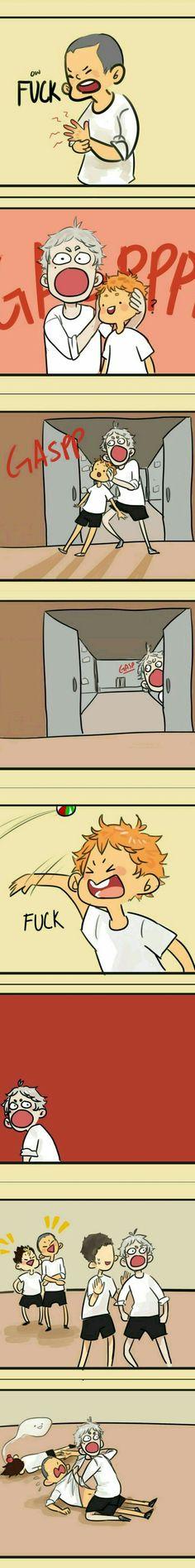 Mom's upset || Tanaka, Sugawara, Hinata, Daichi, Noya || Haikyuu
