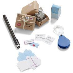 world's smallest post office kit. ADORABLE!