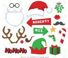 Deixe a ceia da sua família muito mais divertida com o Photo Booth de Natal. Vale colocar barba de papai noel nas crianças, orelhinhas de duende no vovô...