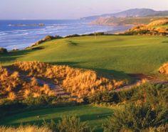Bandon Dunes Golf Course.