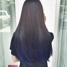 Electric #blue #balayage #mermaidhair #kristinhairstylist #salongloss