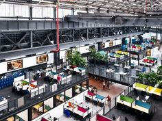 Macro Sea worked with Marvel Architects to transform this disused warehouse into a space for designers and entrepreneurs working in the fields of emerging technologies.