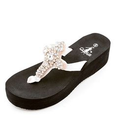 Take a look at this White Christine Sandal by Corky's Footwear on #zulily today! http://www.zulily.com/invite/smacdonald777